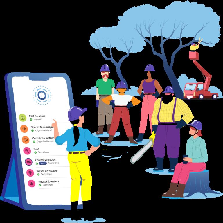 Recap — l'application qui trace votre prévention des risques professionnels, Recap