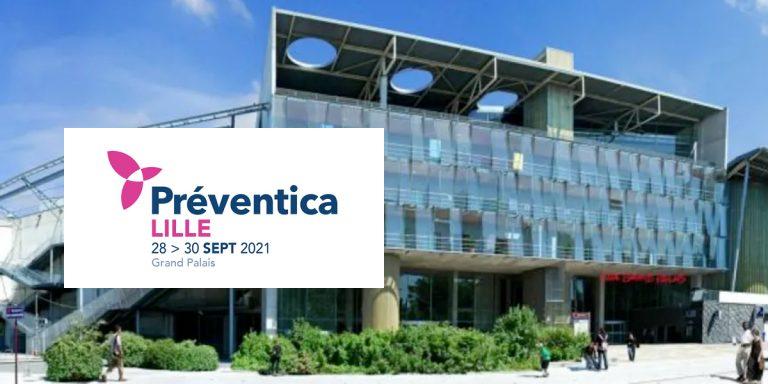 Retrouvez Recap sur le salon Préventica à Lille les 28 et 29 septembre 2021, Recap